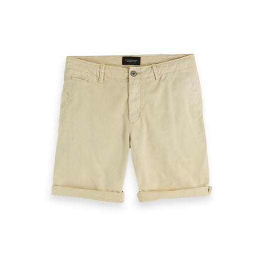 Снимка на SCOTCH&SODA MEN'S NOS - Basic garment dyed twill short.