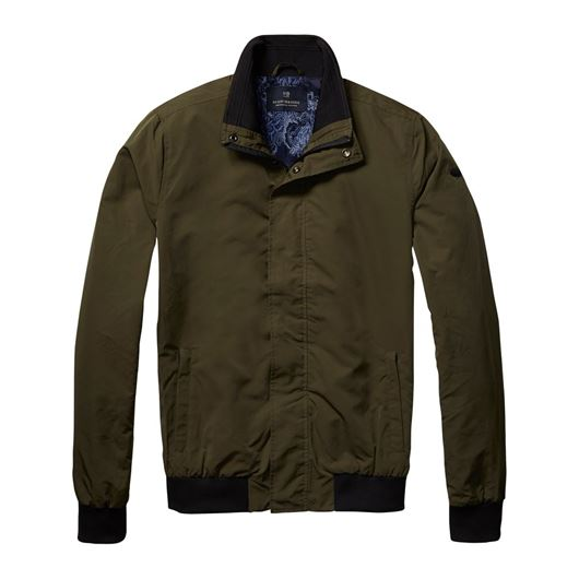 Снимка на SCOTCH&SODA MEN'S Classic bomber jacket in nylon quality