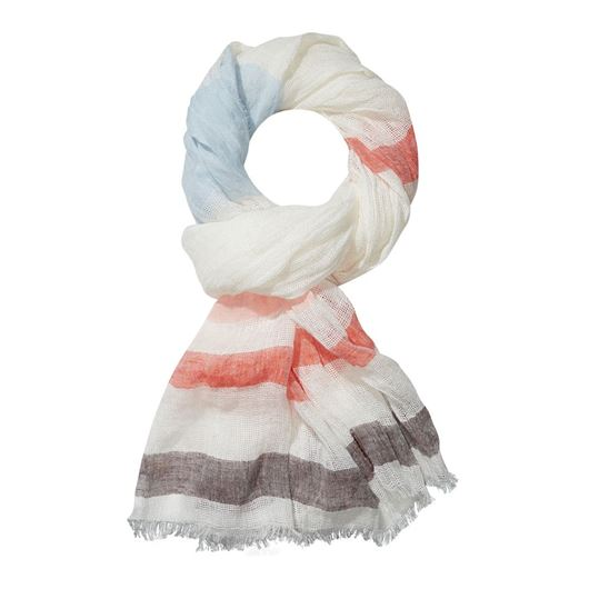 Снимка на SCOTCH&SODA WOMEN'S Open weave summer scarf with coloured stripes