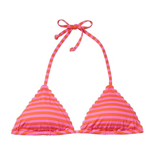 Снимка на SCOTCH&SODA WOMEN'S Triangle bikini top with scallop or embroidered edges