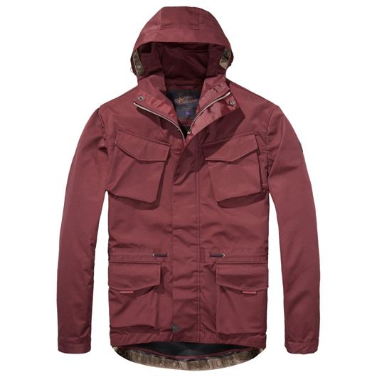Снимка на SCOTCH&SODA MEN'S Hooded jacket in technical quality with mesh lining