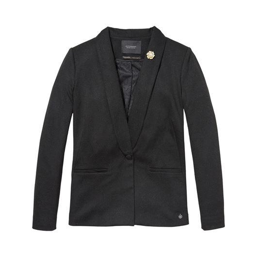 Снимка на SCOTCH&SODA WOMEN'S Longer length blazer in stretch lurex quality