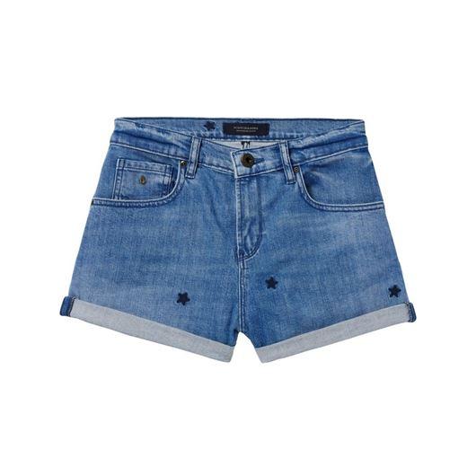 Снимка на SCOTCH&SODA WOMEN'S Shorts - Indigo Star
