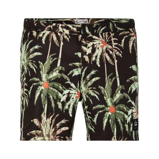Снимка на SCOTCH&SODA MEN'S The Pool Side medium length swimshort with palm print