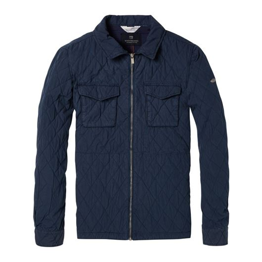 Снимка на SCOTCH&SODA MEN'S Classic quilted shirt jacket