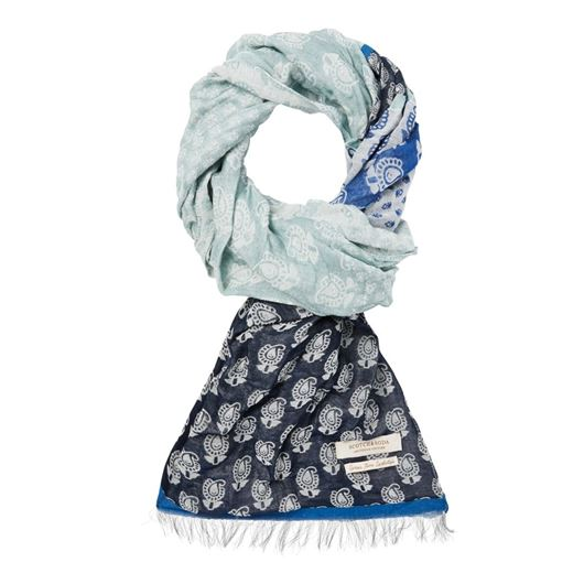 Снимка на SCOTCH&SODA MEN'S Summer scarf with mix & match jacquard patterns