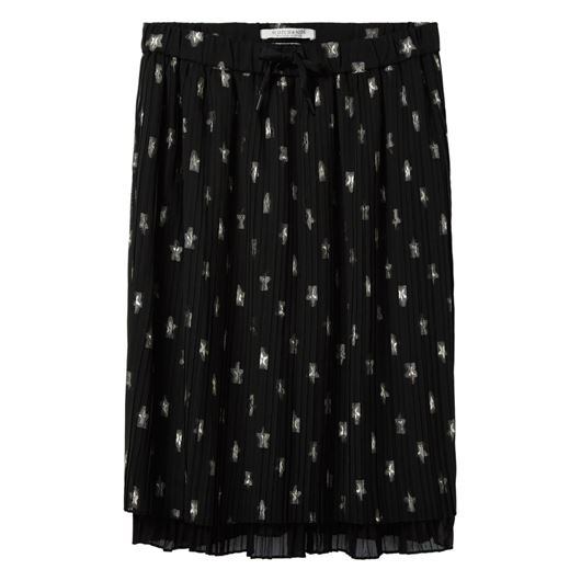 Снимка на SCOTCH&SODA WOMEN'S Pleated double layer knee length skirt