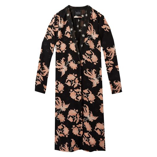 Снимка на SCOTCH&SODA WOMEN'S Longer length drapey print mixed blazer