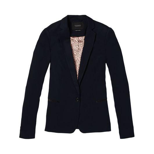 Снимка на SCOTCH&SODA WOMEN'S Signature SCOTCH&SODA WOMEN'S tailored blazer with zip detail