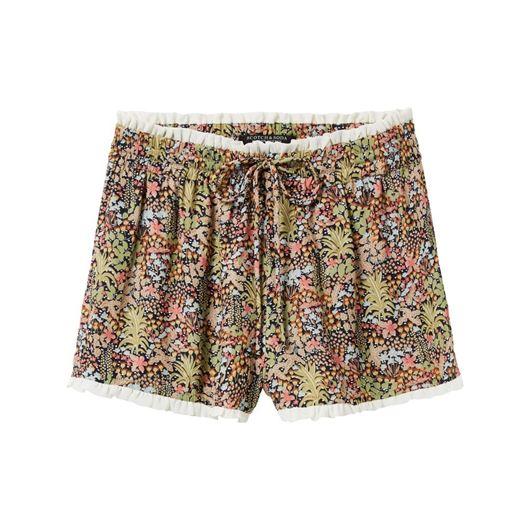 Снимка на SCOTCH&SODA WOMEN'S Drapey shorts with small contrast ruffle at waist and bottom