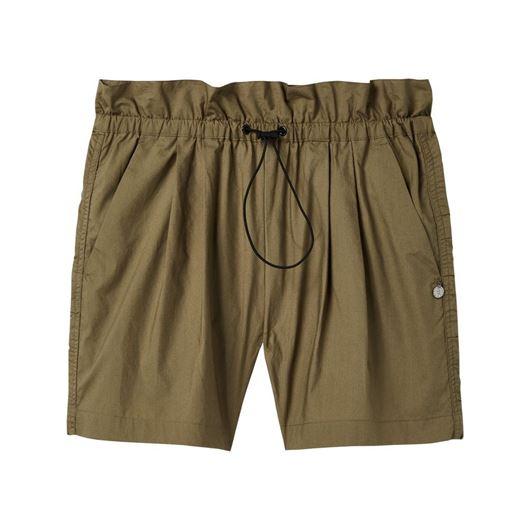 Снимка на SCOTCH&SODA WOMEN'S Technical poplin paperbag shorts with rouched side seam
