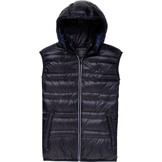 Снимка на SCOTCH&SODA MEN'S Classic reversible down bodywarmer with hood