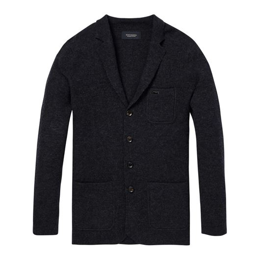 Снимка на SCOTCH&SODA MEN'S Knitted blazer in boiled wool quality