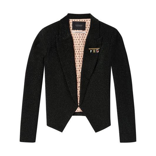 Снимка на SCOTCH&SODA WOMEN'S Shorter length lurex blazer