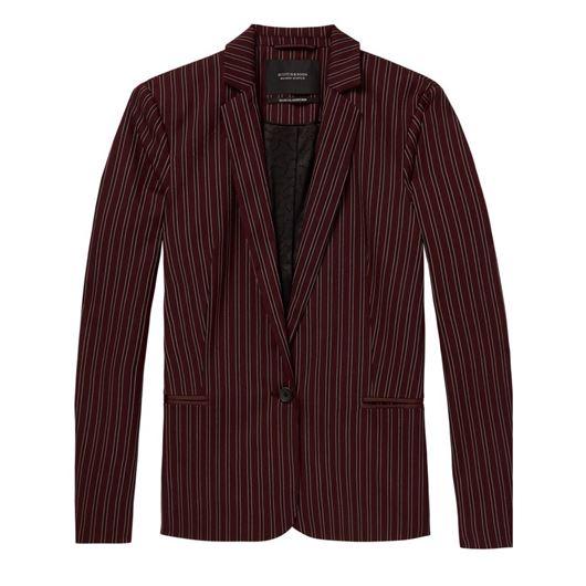 Снимка на SCOTCH&SODA WOMEN'S Classic tailored blazer in stripes