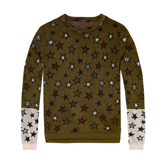 Снимка на SCOTCH&SODA WOMEN'S Knitted top in star jacquard