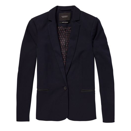 Снимка на SCOTCH&SODA WOMEN'S Classic tailored blazer in solids