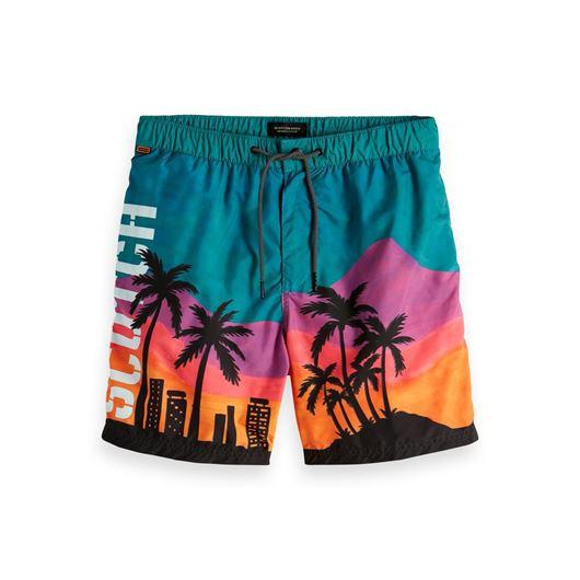 Снимка на SCOTCH&SODA MEN'S Swimshort with fun multicolour artworks