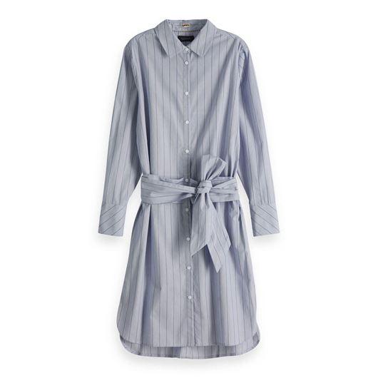 Снимка на SCOTCH&SODA WOMEN'S Tie Belt Shirt Dress