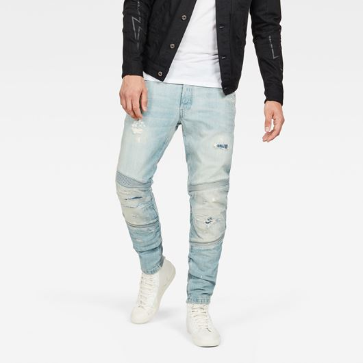 Снимка на G-Star RAW MEN'S Motac Deconstructed 3D Slim Jeans