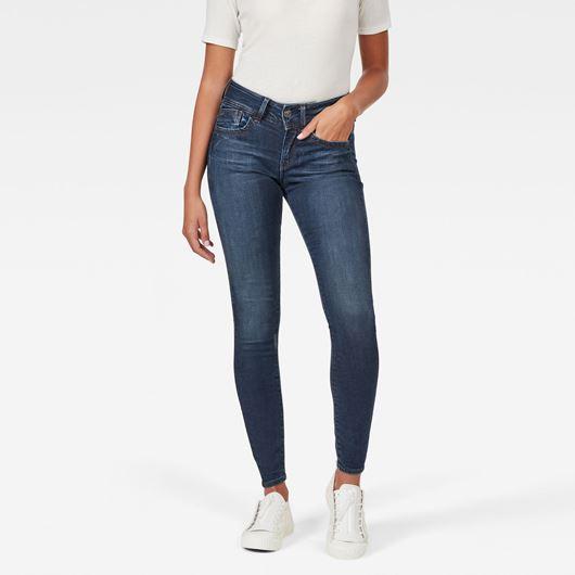 Снимка на G-Star RAW WOMEN'S Lynn D-Mid Super Skinny Jeans