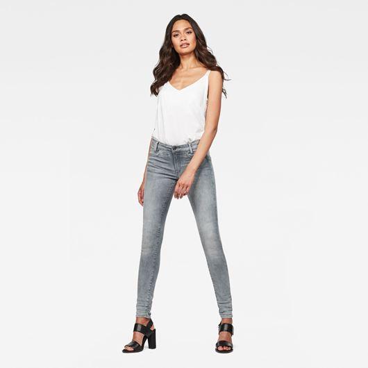 Снимка на G-Star RAW WOMEN'S D-Staq 5-Pocket Mid Skinny Jeans