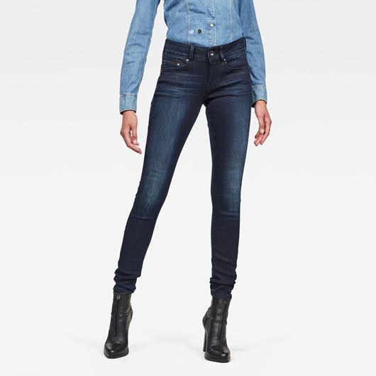 Снимка на G-Star RAW WOMEN'S Midge Cody Mid Skinny Jeans