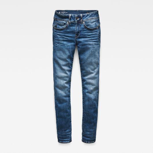 Снимка на G-Star RAW WOMEN'S Midge Saddle Mid Straight Jeans