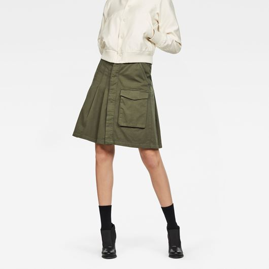 Снимка на G-Star RAW WOMEN'S Tendric High Pleated Skirt