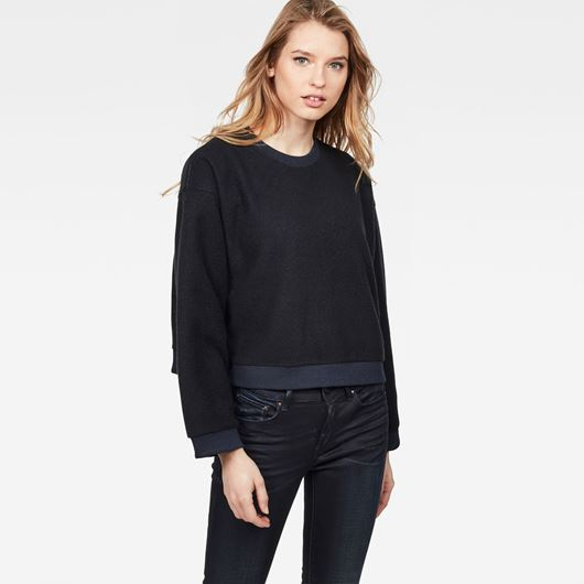 Снимка на G-Star RAW WOMEN'S RC Suzu Relaxed Cropped Sweater