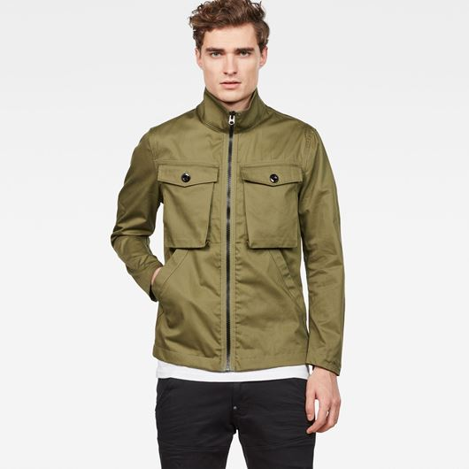 Снимка на G-Star RAW MEN'S Type C Zip Utility Overshirt