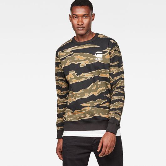 Снимка на G-Star RAW MEN'S Tertil Stalt Deconstructed Sweater