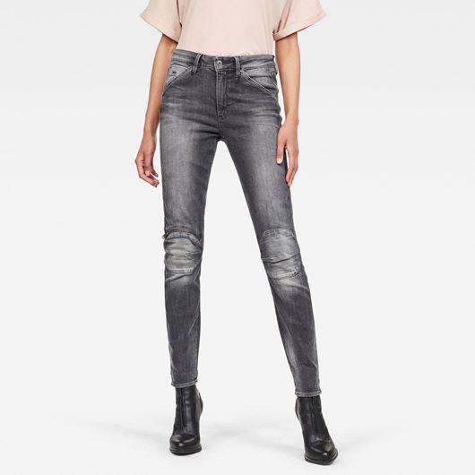 Снимка на G-Star RAW WOMEN'S 5622 Knee Zip High Skinny Jeans