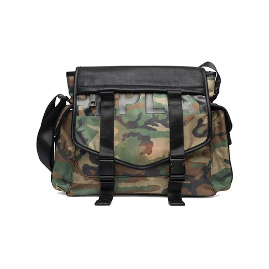Снимка на REPLAY MEN'S CAMOUFLAGE CROSSBODY BAG FM3330.A0131.1178