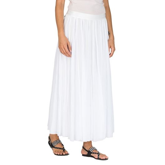 Снимка на REPLAY WOMEN'S LONG PLEATED STRIPED MUSLIN SKIRT W9244.83040.001