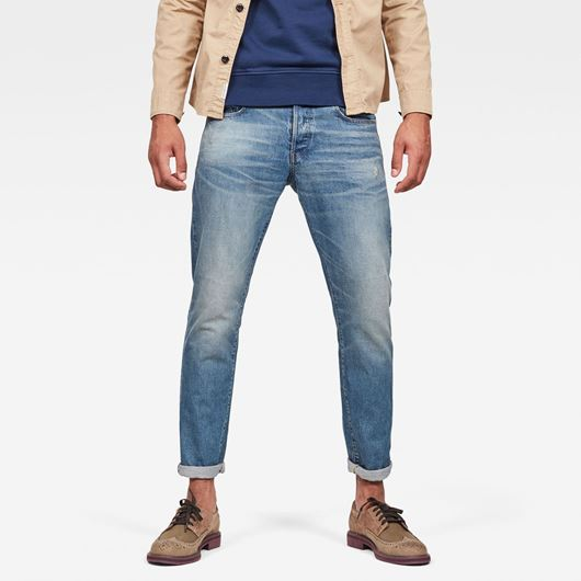 Снимка на G-Star RAW MEN'S 3301 Straight Tapered Jeans