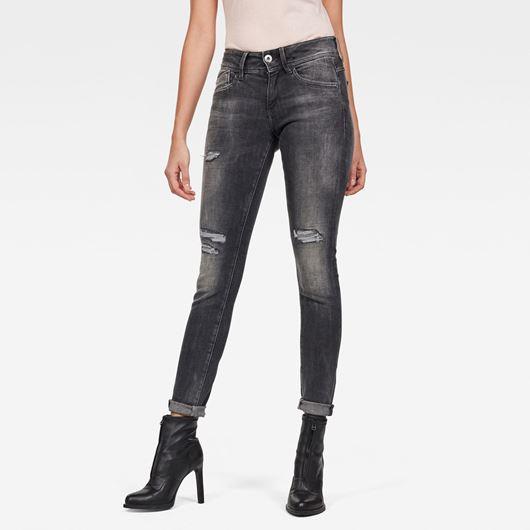 Снимка на G-Star RAW WOMEN'S Lynn Mid Skinny Jeans