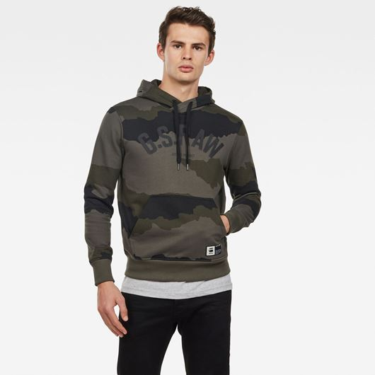 Снимка на G-Star RAW MEN'S Graphic 13 Core Hooded Sweat