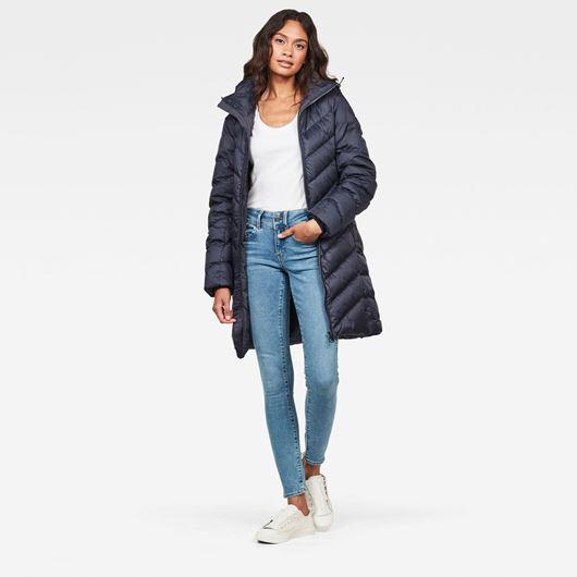 Снимка на G-Star RAW WOMEN'S Whistler Slim Down Hooded Long Coat