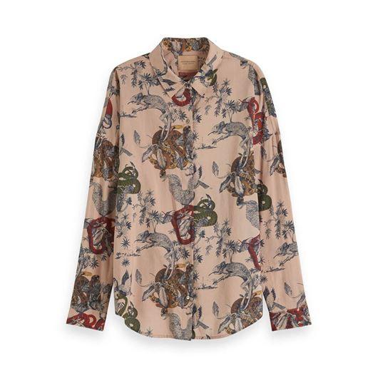 Снимка на SCOTCH&SODA WOMEN'S Oversized Printed Shirt