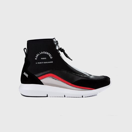 Снимка на KARL LAGERFELD WOMEN'S VITESSE NEO SOCK ZIP BOOT