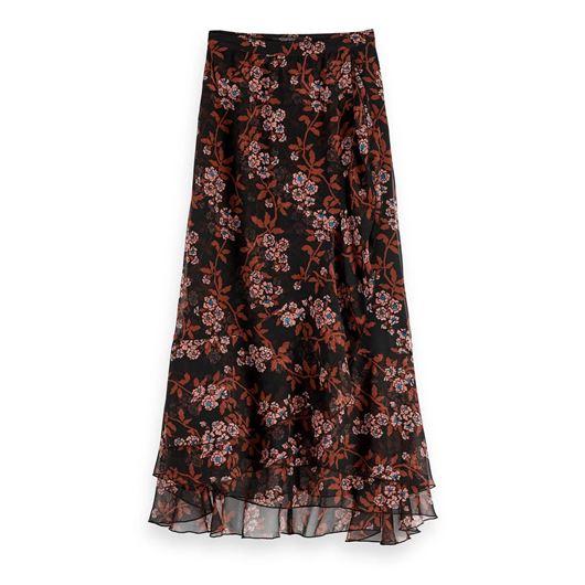 Снимка на SCOTCH&SODA WOMEN'S Floral Print Maxi Skirt