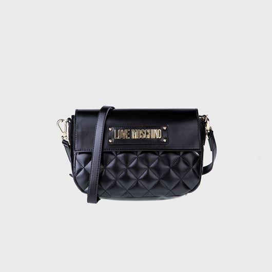 Снимка на LOVE MOSCHINO WOMEN'S QUILTED SHOULDER BAG