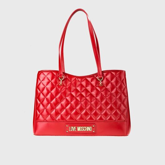 Снимка на LOVE MOSCHINO WOMEN'S QUILTED TOTE BAG