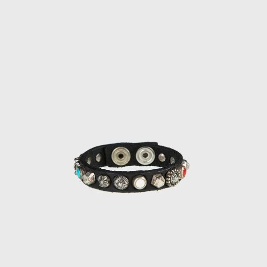 Снимка на CAMPOMAGGI WOMEN'S Leather bracelet with studs